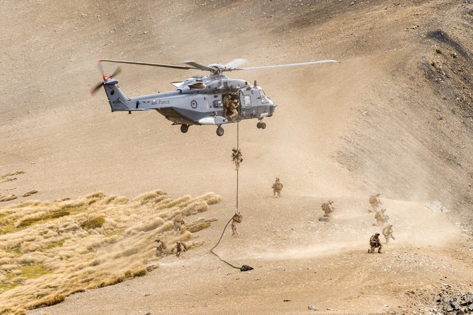 New Zealand approves purchase of new simulator for RNZAF NH90 helicopters