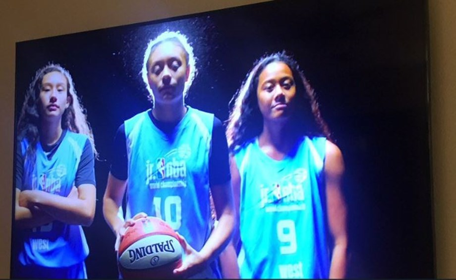 Indian girls beat South American combined team at Jr NBA World Championships