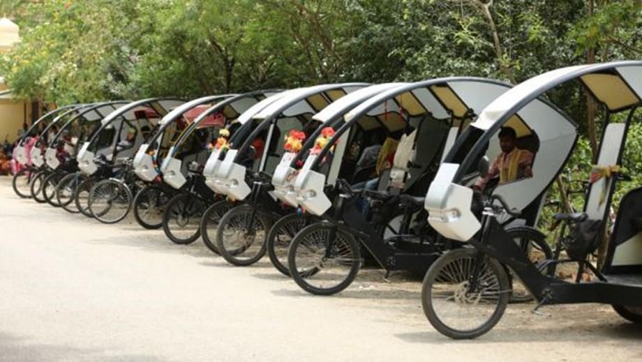 E-pedicabs capable of transforming urban transport