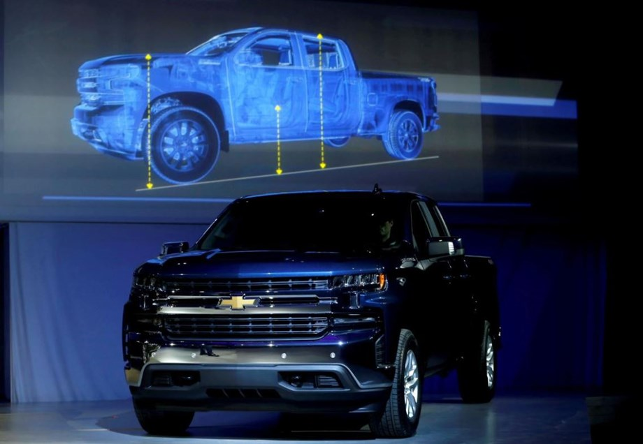 GM squeezes pounds and pennies to attack Ford's pickup profit machine