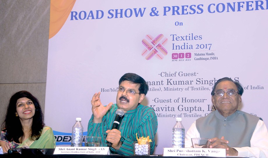 Textiles Secretary Anant Kumar Singh moves to Land Resources
