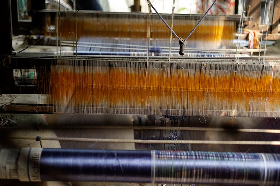 Exhibition promotes traditional Indian weaves