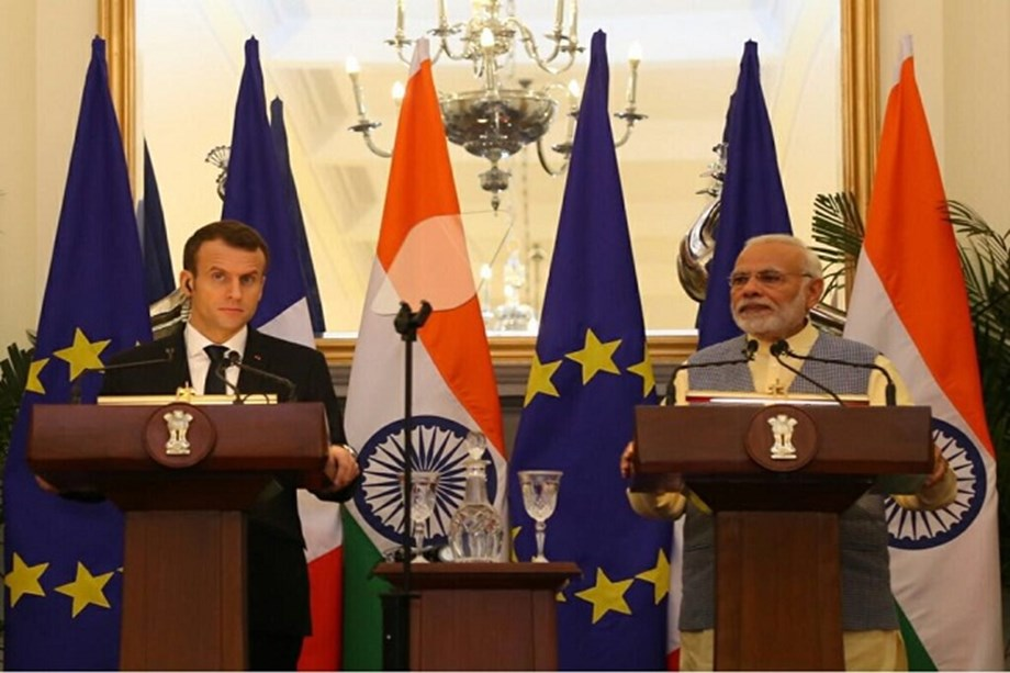 French president executes deals worth USD 16 bln to develop different sectors in India