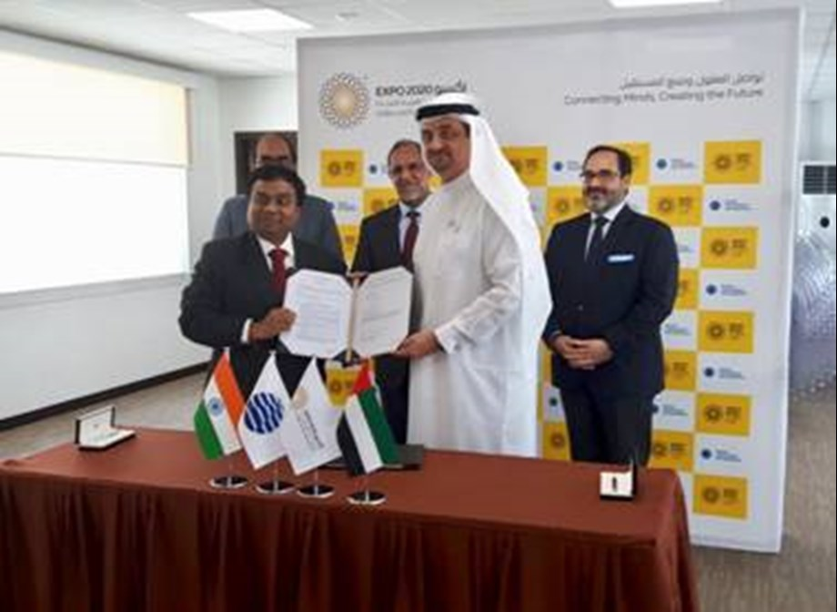 India signs MoU with World EXPO 2020 Dubai