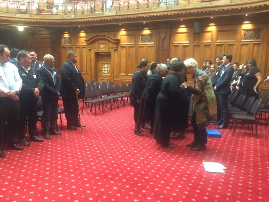 NZ's Ngāti Rangi in Parliament to witness their Treaty settlement Bill pass its first reading