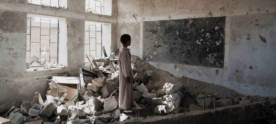 """""""How many more children will suffer in Yemen before those who can act"""" asks UN Chief"""