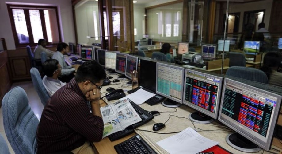 Sensex retreats from record high, down 106 points