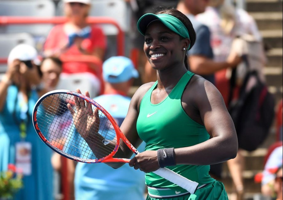 US Open champ Sloane Stephens advances in Montreal US Open champ