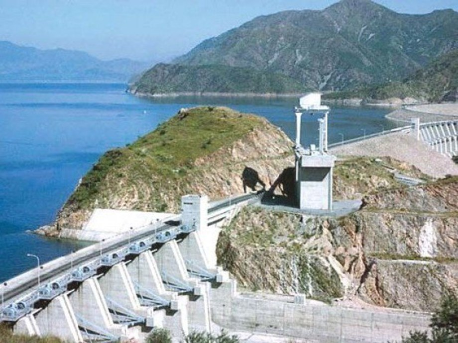 Total storage capacity of 91 reservoirs is 161.993 BCM