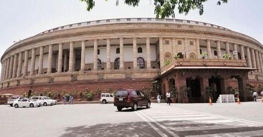 Rajya Sabha Adjourns till 2:30 on protest by congress