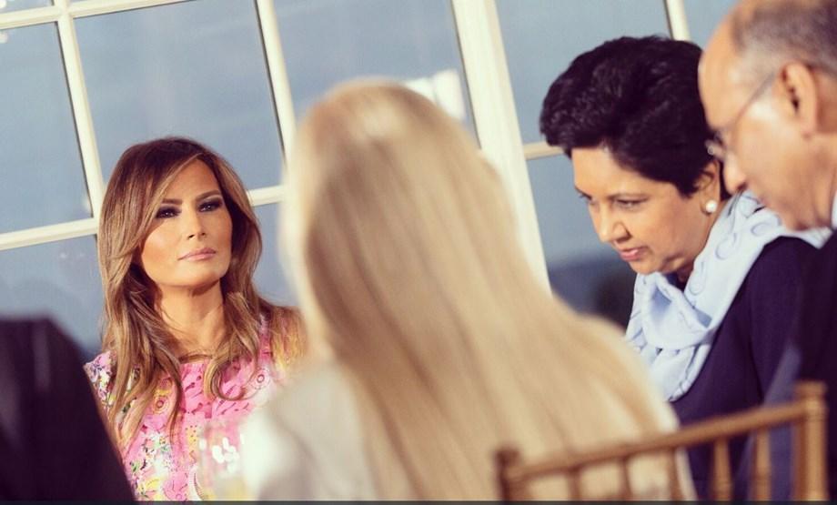 """Melania's parents become US citizens through """"chain migration"""" programme"""