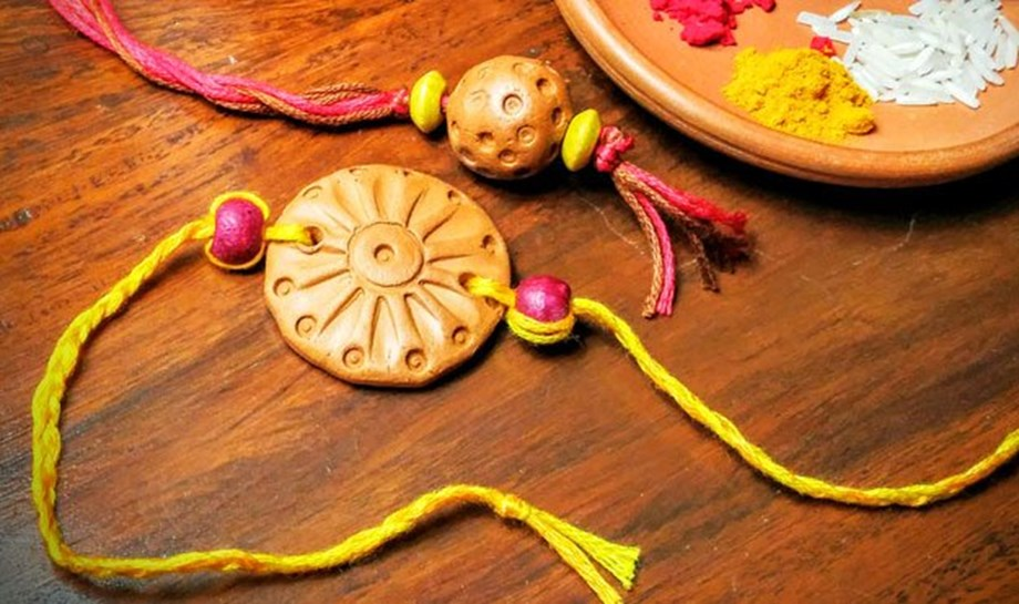 Eco-friendly handcrafted Rakhis, Plantable Kits by TRIFED