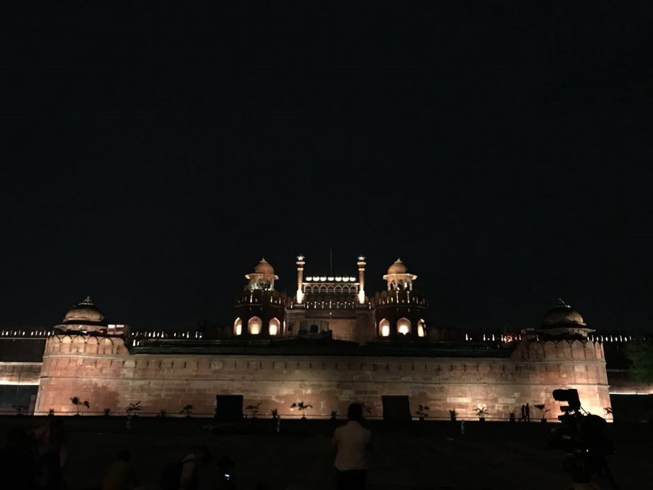 Minister of State for Culture inaugurates architectural illumination at historic Red Fort