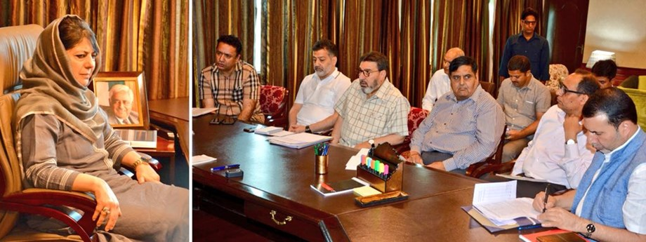 Gov orders immediate release of funds for paying salaries of SSA teachers: Mehbooba