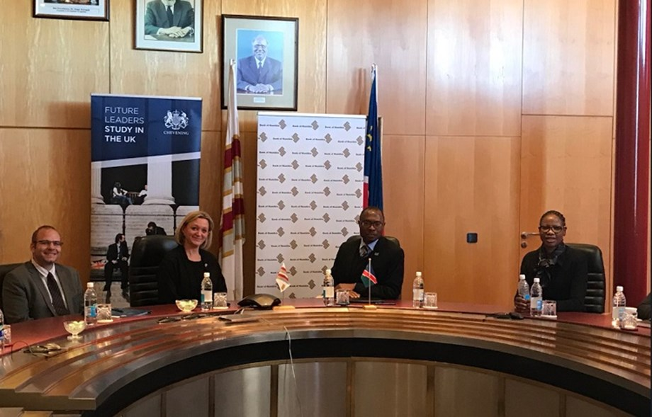 British High Commission and Bank of Namibia jointly fund Chevening scholarships