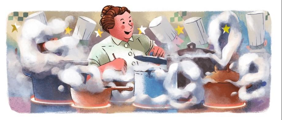 Google Doodle celebrates Eugénie Brazier's 123rd Birthday