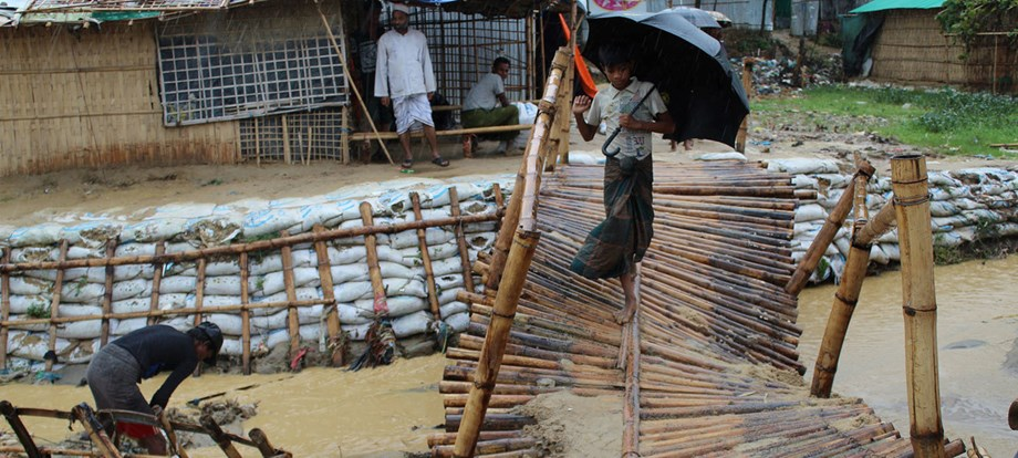 IOM: 9,000 Rohingya refugees have been affectedby monsoon rains