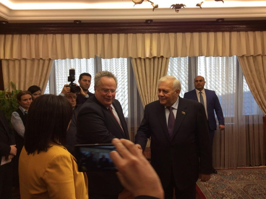 Russia and Hellenic Republic will exchange views on international issues