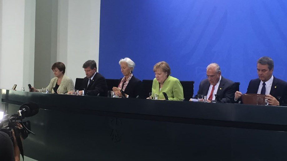UN Agencies, Merkel prioritize global trade cooperation for world economy