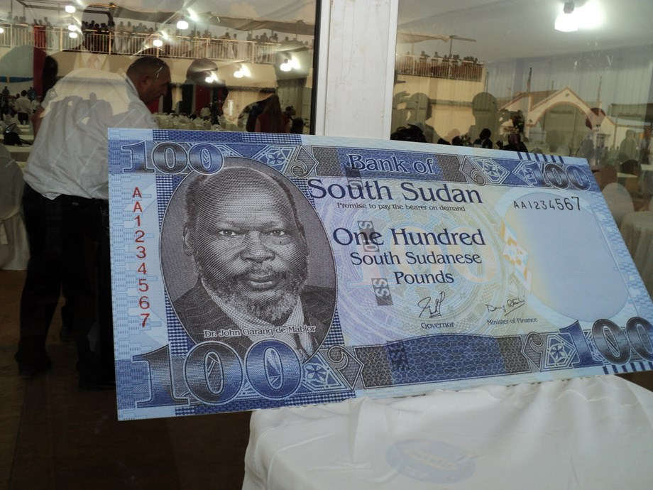 South Sudan will issue higher-yielding paper currencies