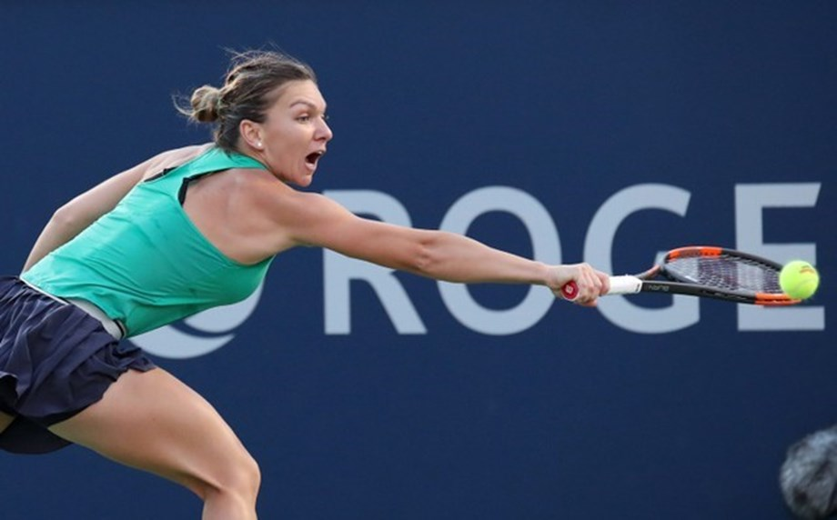 Halep punches her ticket to the semi finals of the WTA Canada Tournament