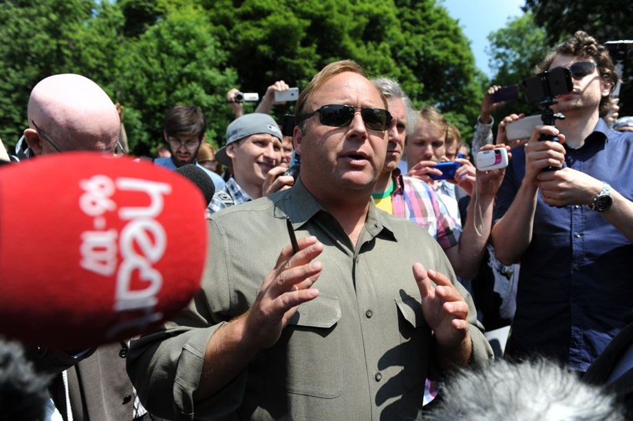 Alex Jones and Boris Johnson to face media ban over speaking their minds