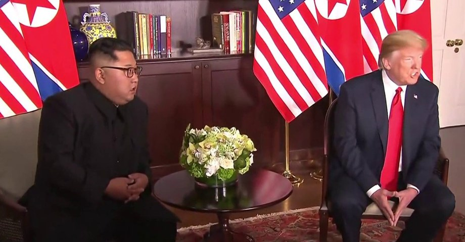 US and North Korea set to discuss Geopolitics with a smile