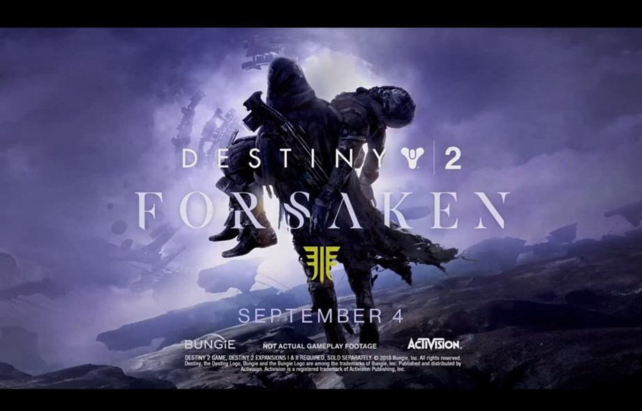 New trailer of Destiny 2: Forsaken released