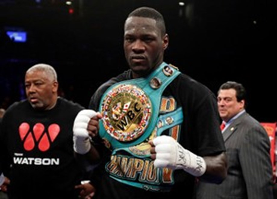 American Deontay Wilder ready to fight Anthony Joshua in Britain