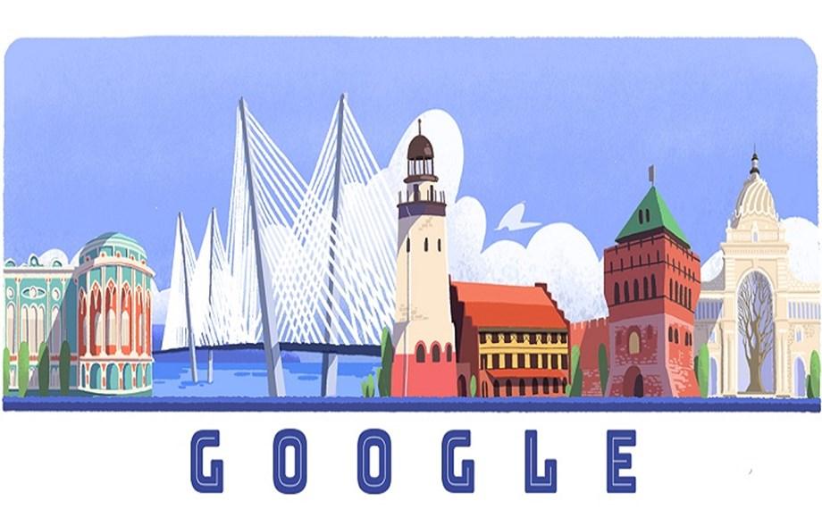 Google Doodle celebrates Russia Day
