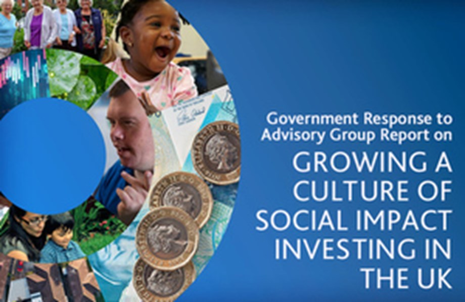UK Gov strengthened its commitment to bring social impact investment into mainstream
