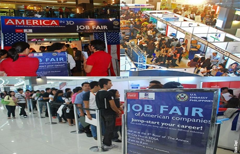 Rizal Park job fair kicks off in Manila