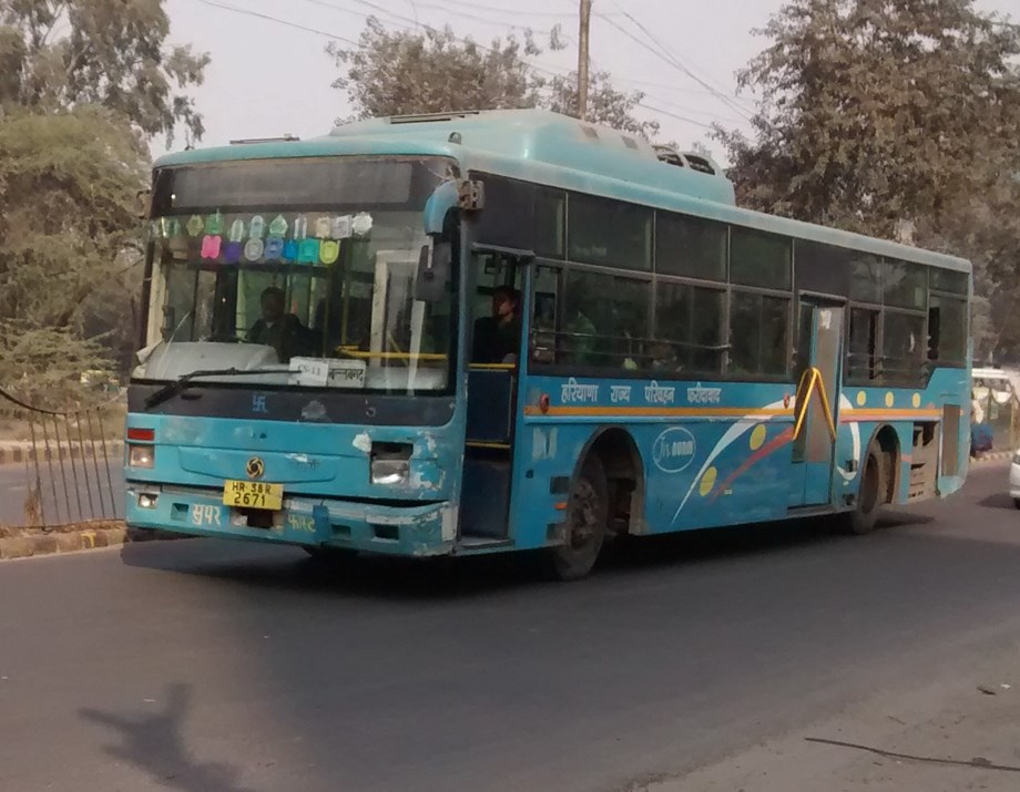 Gurgaon to have 500 city buses