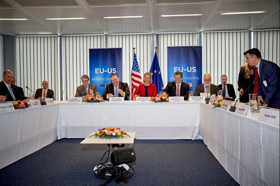 EU and US hold energy council meeting focusing on infrastructure, innovation and tranition