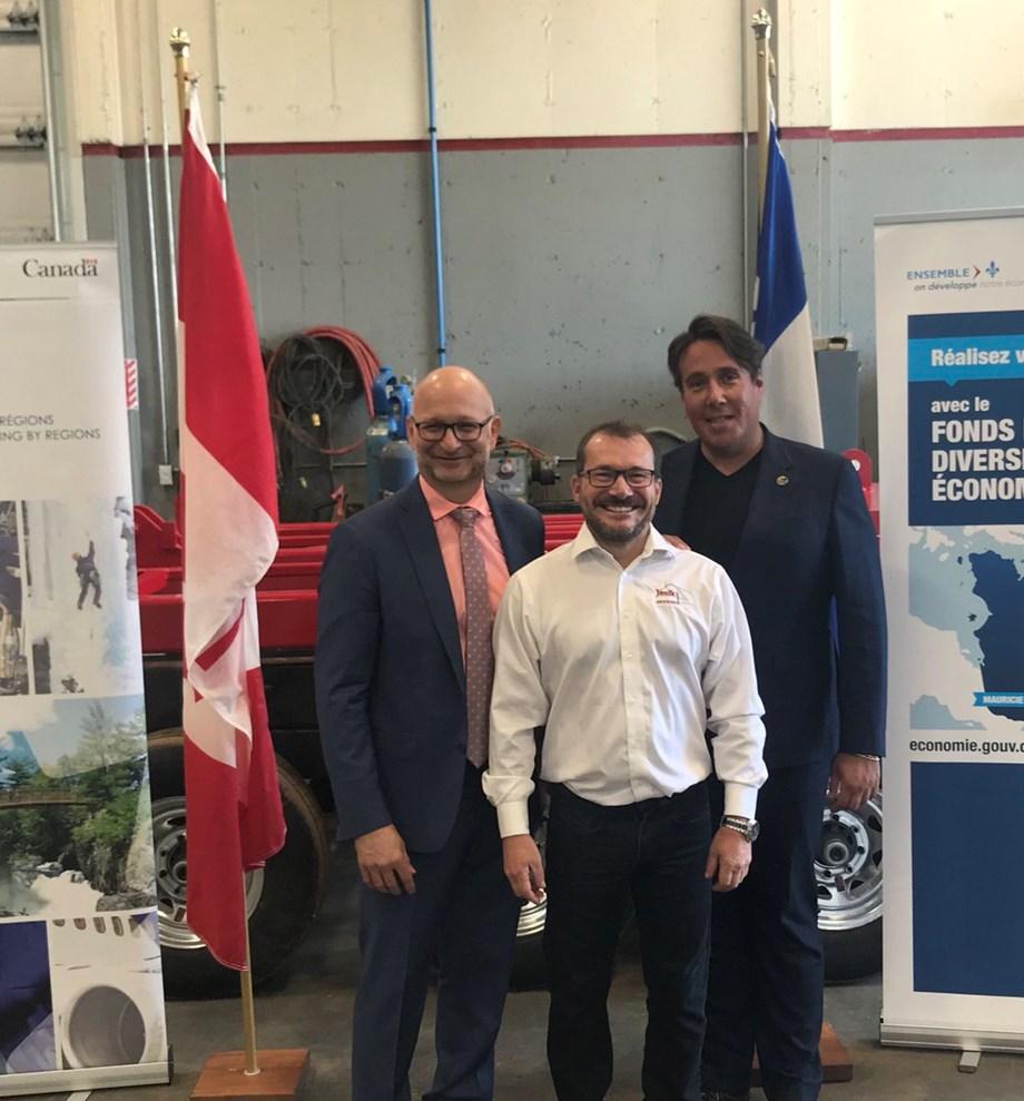 Canada announces financial assistance to Jenik, aerial bucket truck manufacturer
