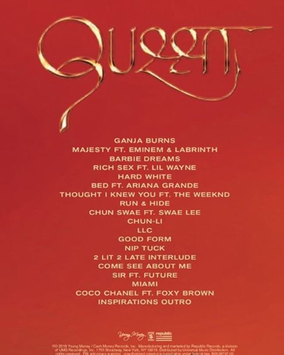 Nicki Minaj's 'Queen' powered by more focused than usual melodies