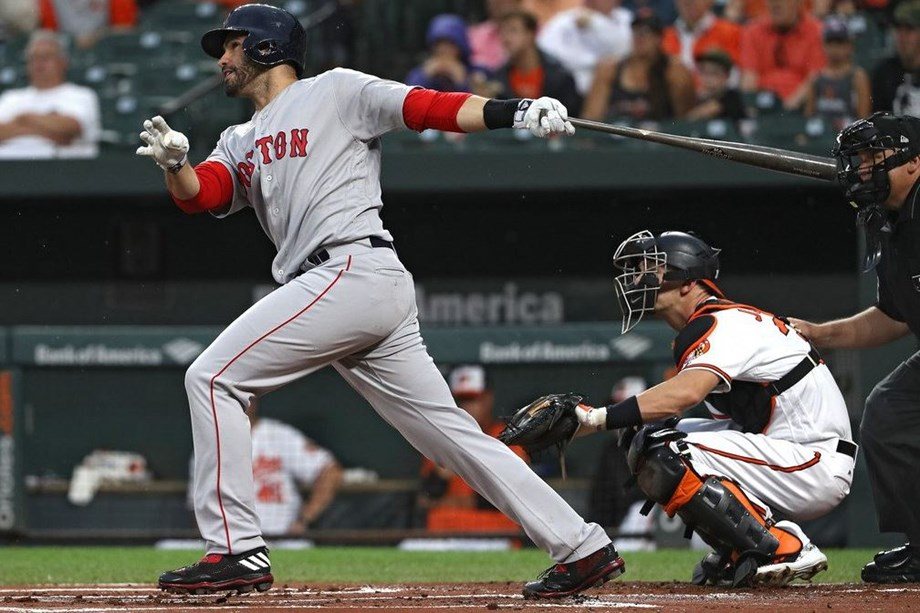 Martinez strikes again -- twice -- as Red Sox sweep DH from O's