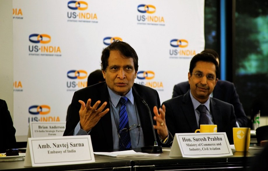 Discussions on bilateral trade and commercial relations during Suresh Prabhu's USA visit