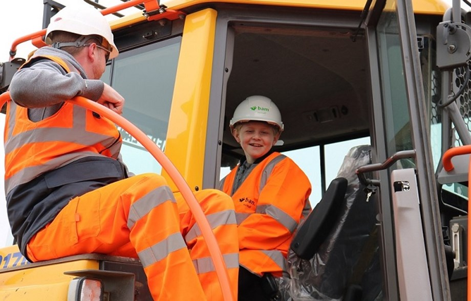 School children flood in for new defences tour