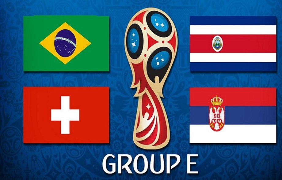 FIFA World Cup 2018: Brazil versus three others in Group E