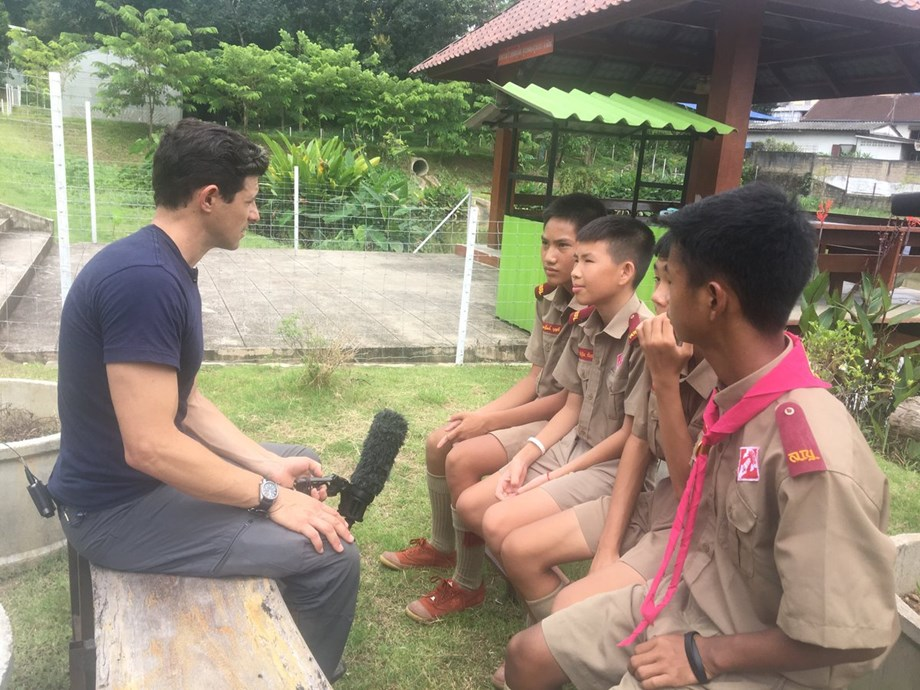 Thai 'Wild Boars' can't wait to see teammates on training ground