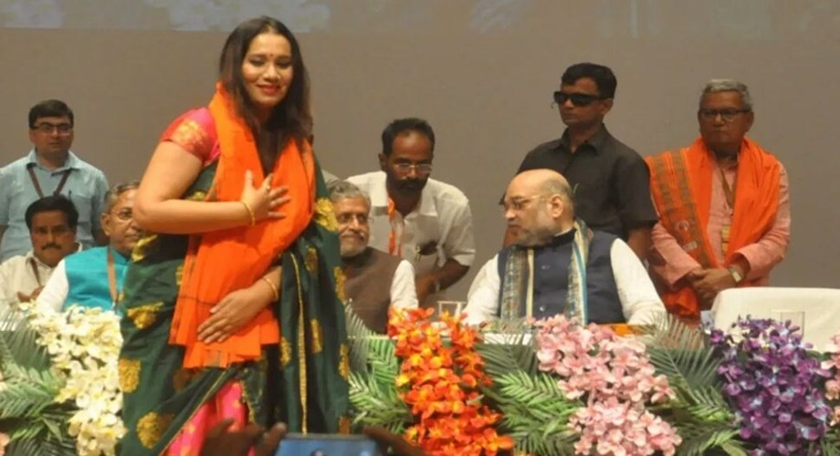 Bhojpuri singer Kalpana Patowary has joined the BJP