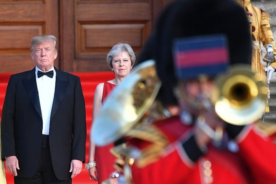 May and Trump will have positive trade discussion, says UK finmin Hammond