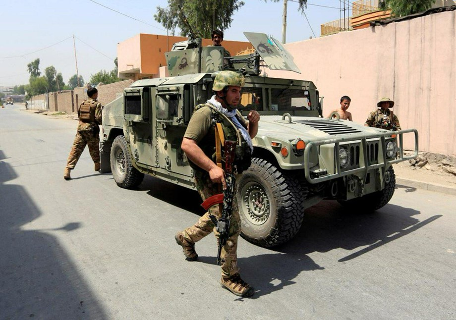 Six civilians dead after ground and air strikes of Afghan forces