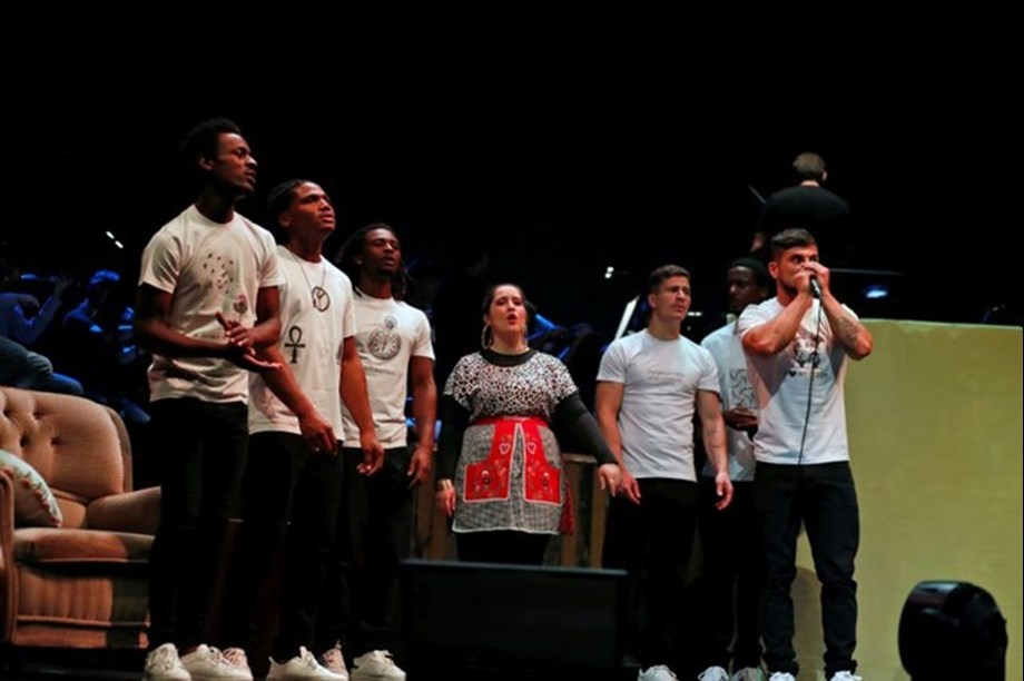 Inmates from Portugal's biggest youth prison sings Mozart opera at Lisbon music venue