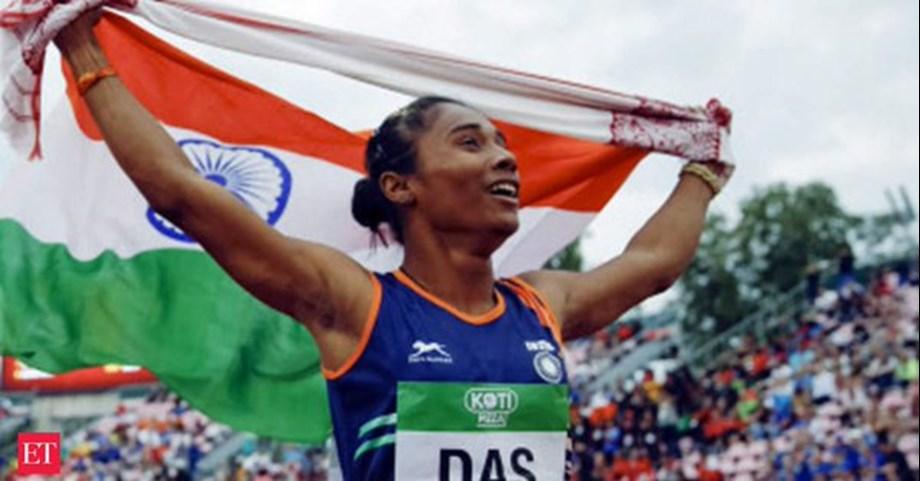 Assam erupts in joy over Hima's win in Finland