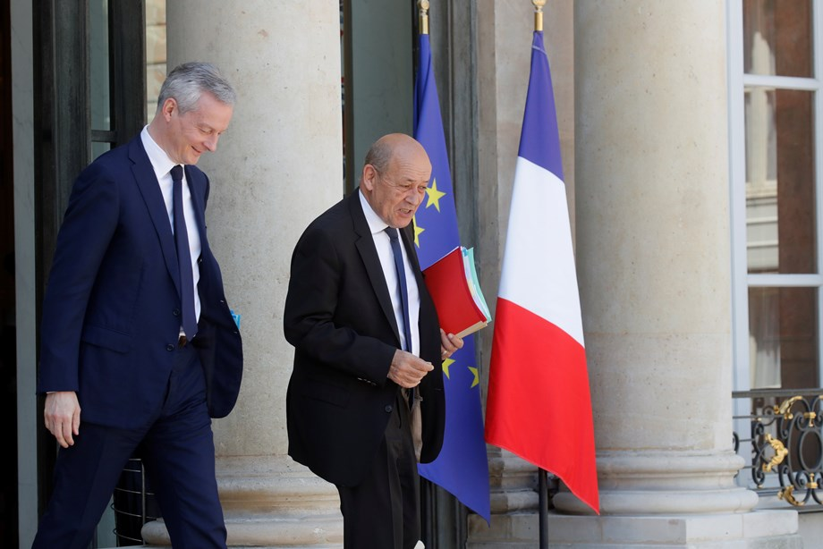 French foreign minister meets UN High Commissioner for Refugees