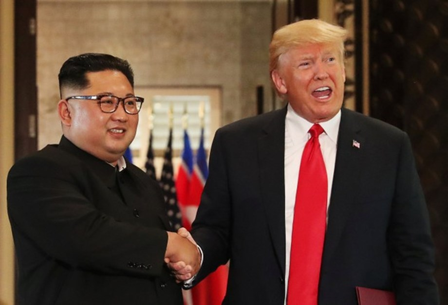 US President says summit with N Korea removed nuclear threat