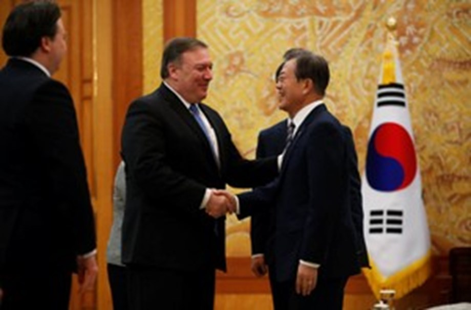 US, S Korea, Japan to work together to ensure complete denuclearization by N Korea