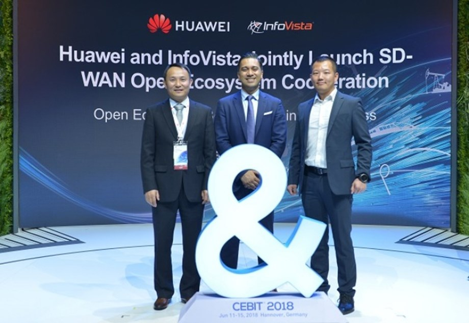 Huawei and InfoVista jointly announce cooperation in SD-WAN